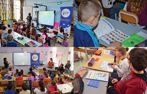 Europe Direct Information Centre discusses the EU with Qala school children