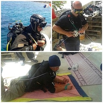 ERRC volunteers participate in full cave diving & rescue course in Sicily