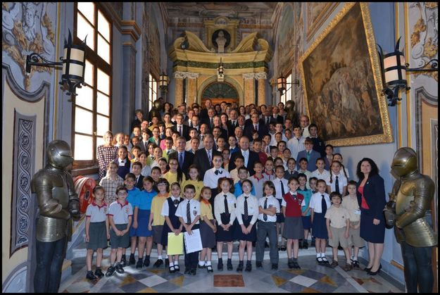 Gozo students take part in the 10th EkoSkola Parliament Session