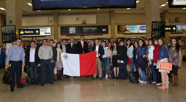 100 Maltese youths leave for European Youth Event in Strasbourg