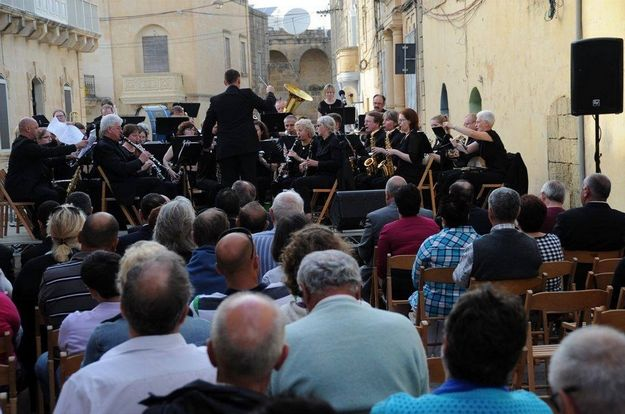 85th anniversary celebrations for the Prekusur Band Club in Xewkija