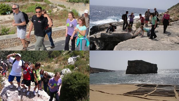 Alive Charity Foundation Gozo hike raises funds for breast cancer research