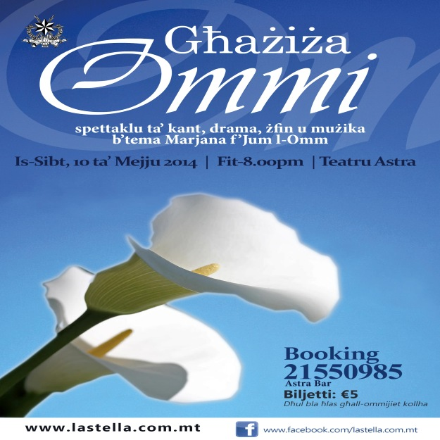 Ghazzi Ommi – A Mother's Day Spectacular at the Teatru Astra