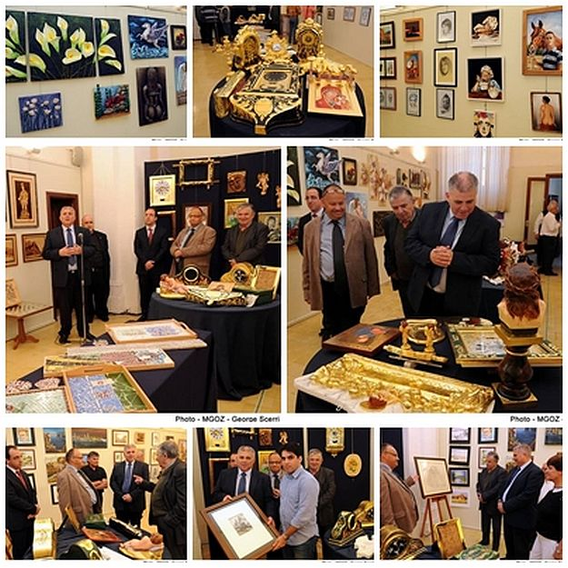 Annual Gozo Centre for Art & Crafts School Exhibition inaugurated