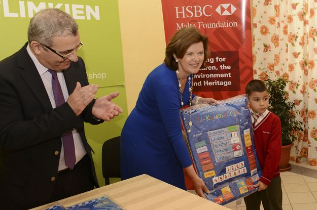 HSBC Malta supports multisensory calendars in Maltese project