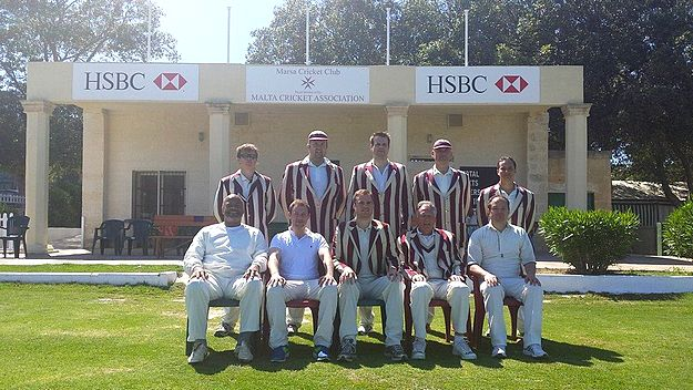 The Honourable Artillery Company CC take on Marsa on 2nd tour to Malta