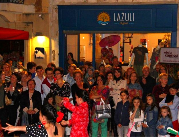 Official launch of 'Lazuli' Boutique in St George's Square, Victoria