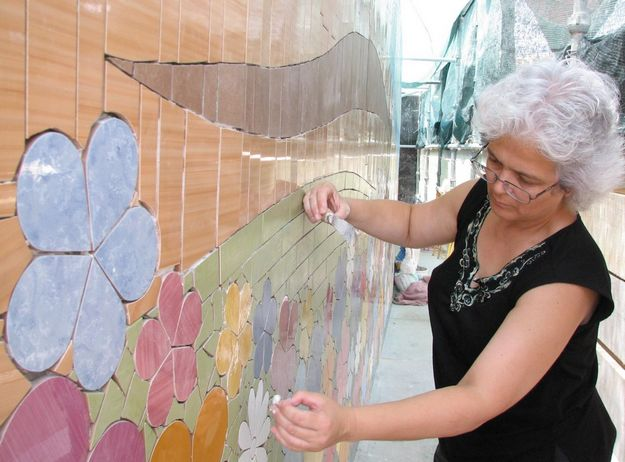 Free mosaic workshop this Saturday in Gozo with Mary Portelli