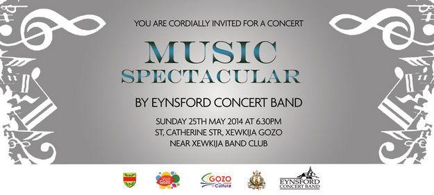 Music Spectacular: The Eynsford Concert Band next Sunday in Xewkija
