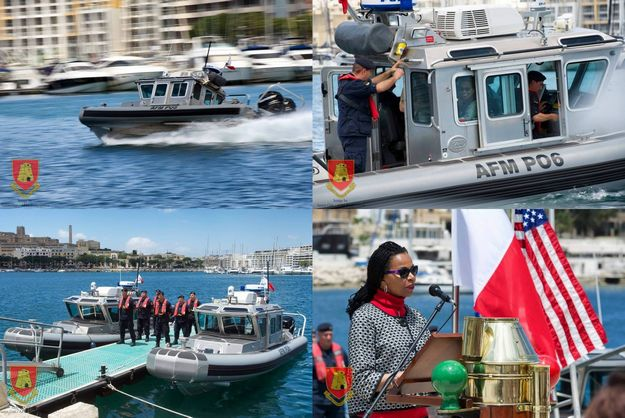 New 'Defender-Class' inshore patrol boats inaugurated, 1 deployed to Gozo