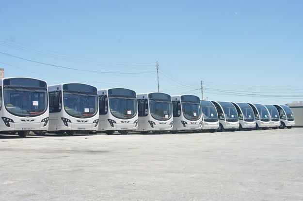 New buses arrive in Malta: 45 new buses will be in service over coming weeks