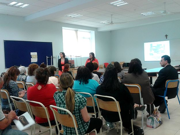 Parents' course on how to support children with dyslexia held at the Gozo College