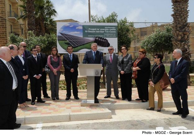 265 photovoltaic panels to be installed at the Tac Cawla housing estate, Gozo