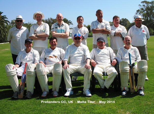 Pretenders CC return to Malta to take on Marsa in a two game series