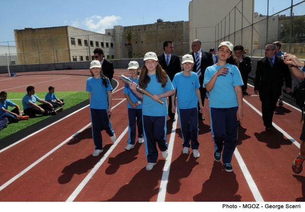 Queen's Baton Relay visits Gozo on its way to the Commonwealth Games