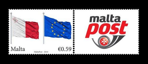10th Anniversary Accession to the European Union: Single se-tenant stamp format