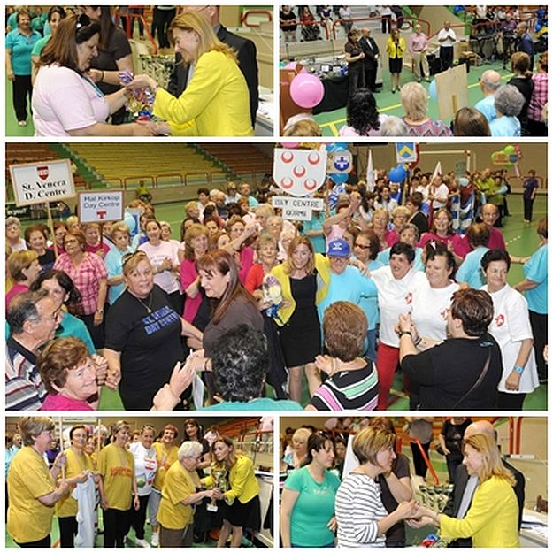 'Sports Day for the Elderly' event attended by Dr Justyne Caruana
