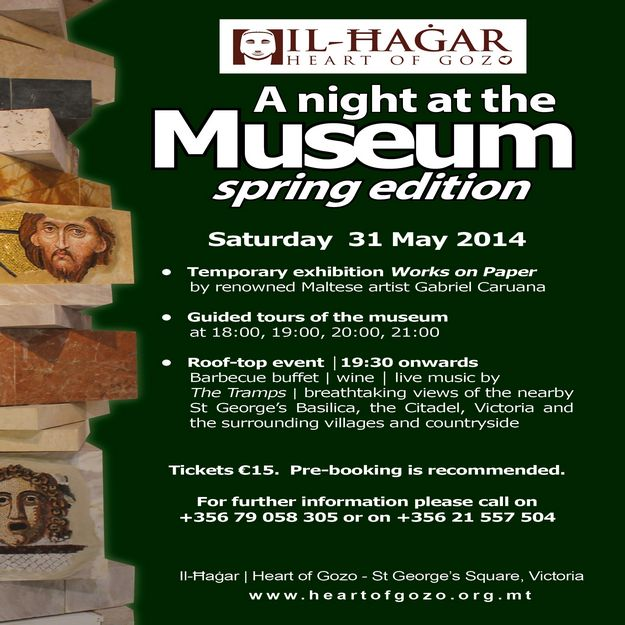 Il-Hagar¦Heart of Gozo: Spring Edition of A Night at the Museum