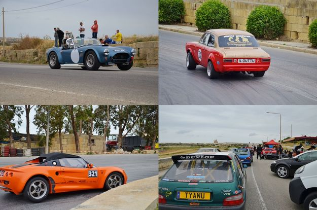 Xaghra hill climb race day for the 4th round of the Island Car Club event