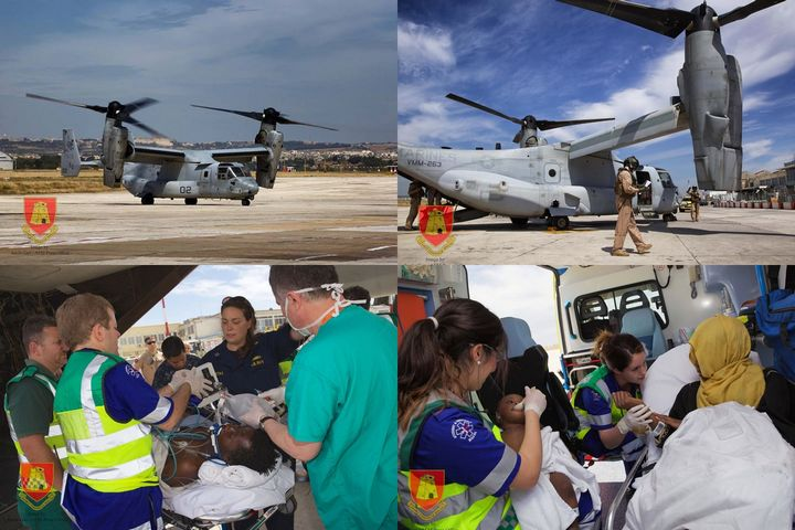 AFM involved in large-scale aero-naval search & rescue operation