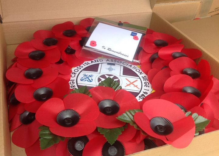 Air Malta assists Royal British Legion with shipment of red poppy wreaths