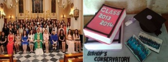 Bishop's Conservatory Secondary School Form 5 students graduation