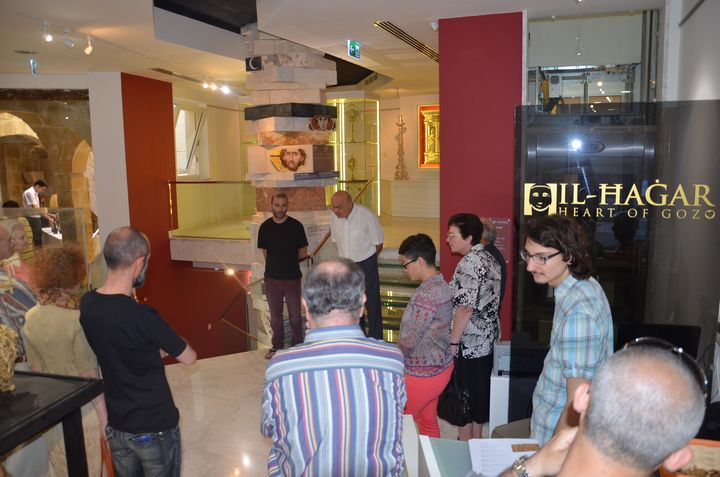 Bricolage - Gozo exhibition by John Paul Azzopardi inaugurated