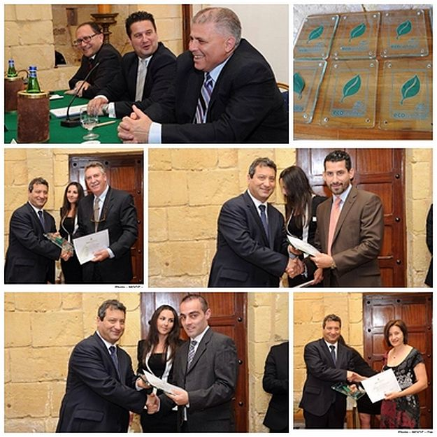 Tourism Minister presents Eco-certificates for Gozitan farmhouses