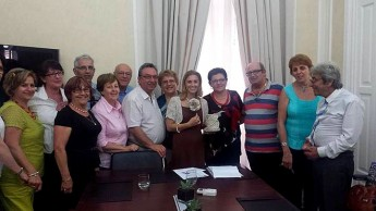 Justyne Caruana meets with Nanniet Malta Committee members