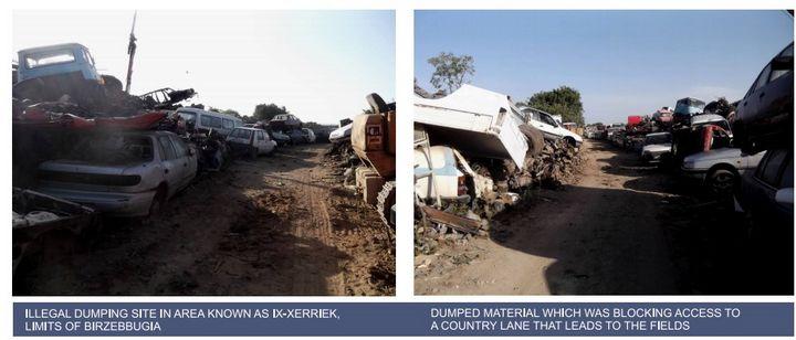 Court mandate cuts short MEPA's operation against illegal scrapyard