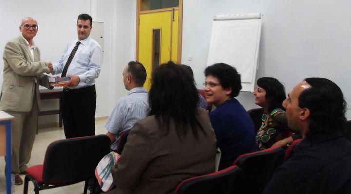 MSEAM seminar with Prof Christopher Bezzina held in Gozo