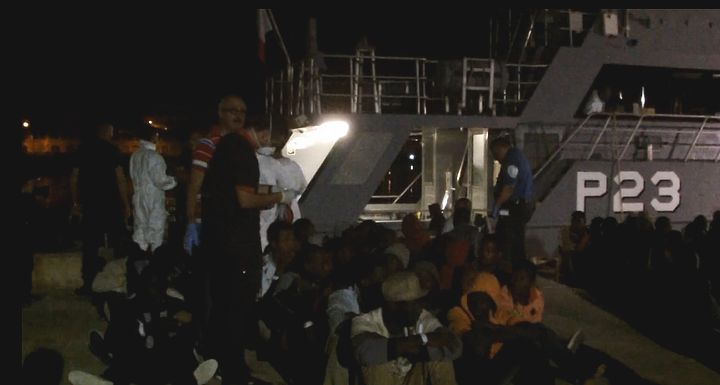 130 migrants brought ashore to Malta in another AFM rescue