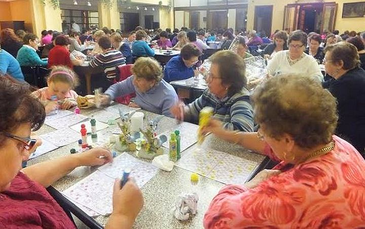 €3400 collected during a High Tea held in aid of Puttinu Cares Gozo