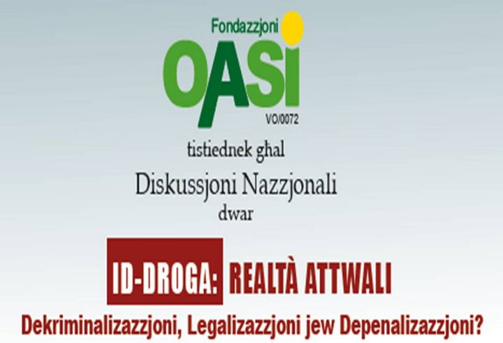 Drugs: Decriminalisation, legalisation or dependence - OASI discussion