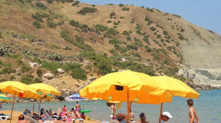 Gaia Foundation opens the Blue Flag Season at Ramla Bay, Gozo