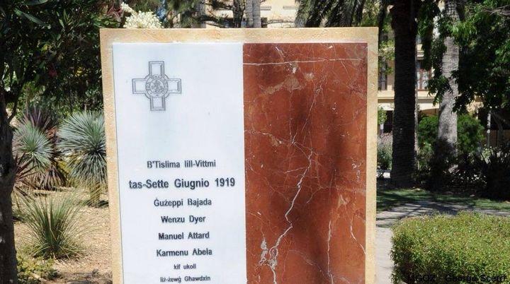 Sette Giugno commemoration ceremony & monument inauguration