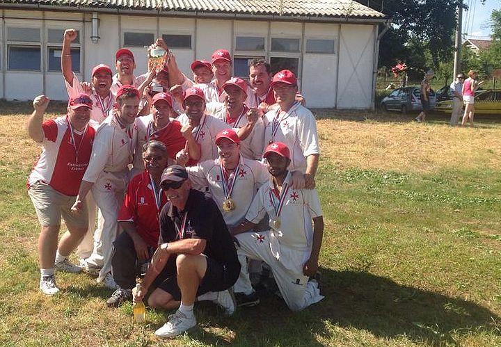 Malta cricket team wins Pan European T20 Tournament in Hungary