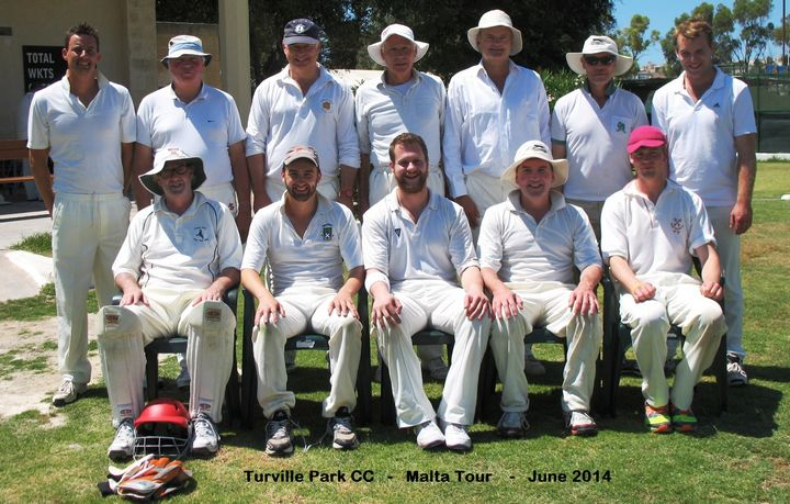 Turnville Park CC take on Marsa CC in a three game series