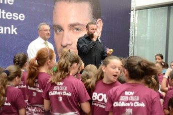 BOV Joseph Calleja Children's Choir enjoy celebration party