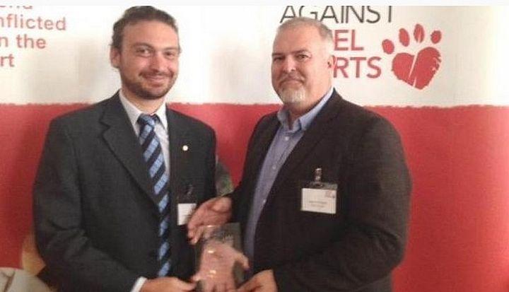 BirdLife Malta receives award from British animal welfare charity