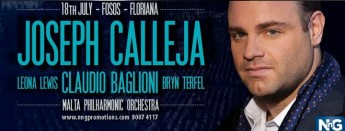 Special bus services for Joseph Calleja Concert at the Granaries