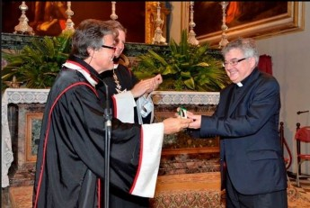 "Can George J Frendo awarded Order of Malta's Cross ""pro piis meritis"""