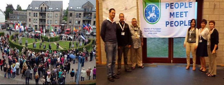 Nadur delegation attend 'Charter' meeting in Bievre, Belgium