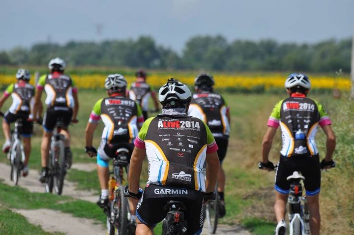 ALIVE Cycling team venture into Serbia on day 6 of the challenge