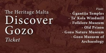 Discover Gozo ticket by Heritage Malta for all Gozo museums & sites