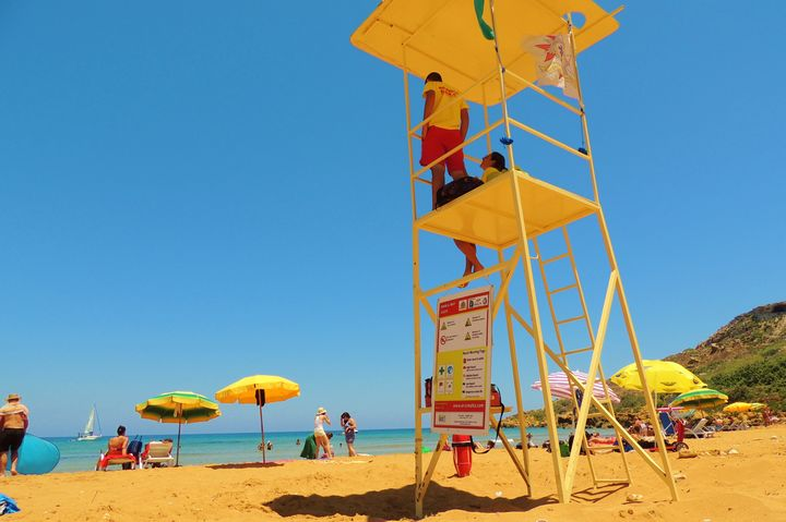 ERRC Lifeguards assist 3 swimmers on last day of service at Ramla Bay