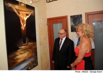 Art exhibition in Victoria by Italian artists Mario and Adriana Caffaro