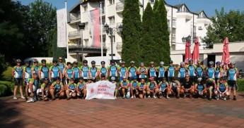 ALIVE Cycling team complete their 1000km challenge to Belgrade