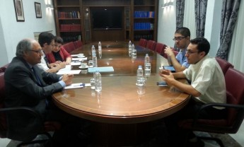 Finance Minister meets members of the Gozo Regional Youth Council