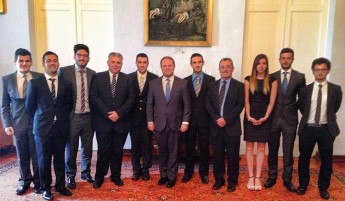 Gozo University Group put their points foward to the Prime Minister